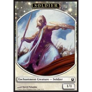 Soldier Token (White 1/1 Enchantment)