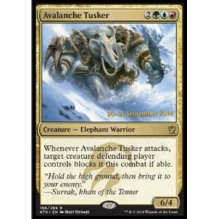 Avalanche Tusker (Version 1) - PROMO FOIL