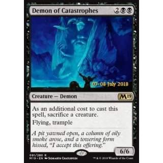 Demon of Catastrophes - PROMO FOIL