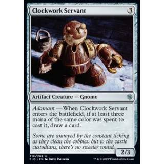 Clockwork Servant - FOIL