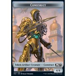 Construct Token (Colorless 4/4)