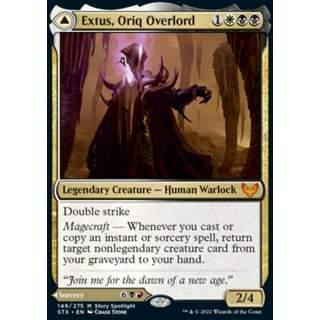 Extus, Oriq Overlord // Awaken the Blood Avatar - FOIL