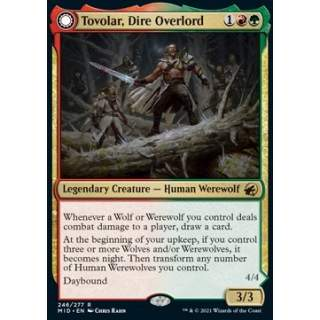 Tovolar, Dire Overlord // Tovolar, the Midnight Scourge