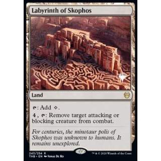 Labyrinth of Skophos (Version 1) - PROMO FOIL