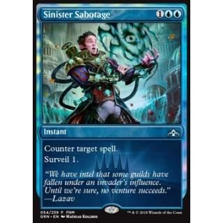 Sinister Sabotage - FOIL