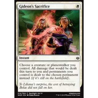 Gideon's Sacrifice