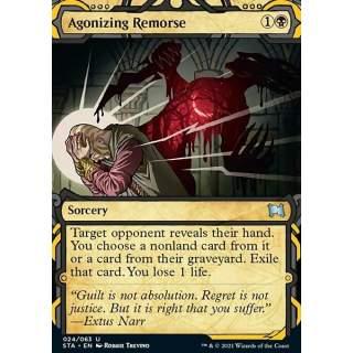 Agonizing Remorse (V.3) - FOIL