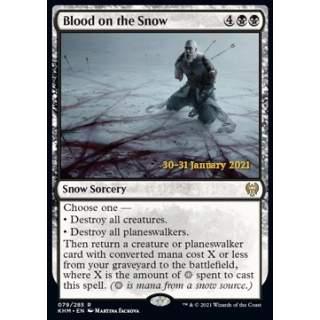 Blood on the Snow (V.1) - PROMO FOIL