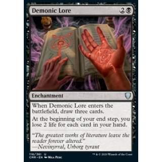 Demonic Lore - FOIL