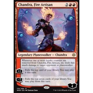 Chandra, Fire Artisan - FOIL