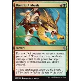 Domri's Ambush - FOIL