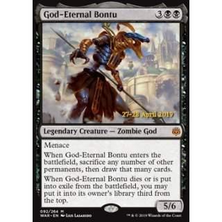 God-Eternal Bontu - PROMO FOIL