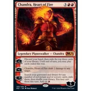 Chandra, Heart of Fire - FOIL