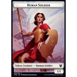 Human Soldier Token (White 1/1) - PROMO