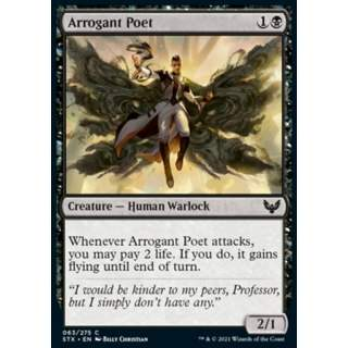 Arrogant Poet - FOIL