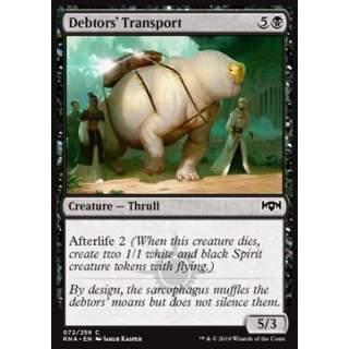 Debtors' Transport - FOIL