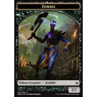 Zombie Token (Black 2/2)