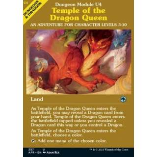 Temple of the Dragon Queen - PROMO FOIL