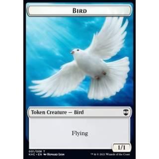 Bird Token (W 1/1) / Spirit Token (W 1/1)