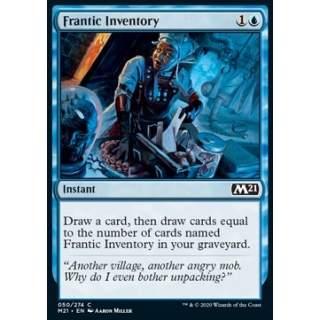 Frantic Inventory - FOIL