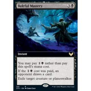 Baleful Mastery - PROMO FOIL