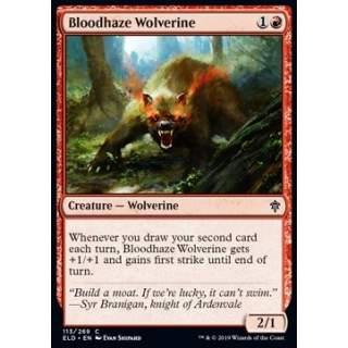 Bloodhaze Wolverine - FOIL