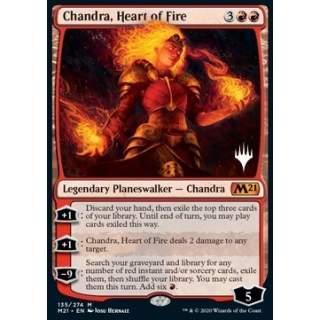 Chandra, Heart of Fire (V.1) - PROMO FOIL