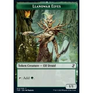 Llanowar Elves Token (Green 1/1)