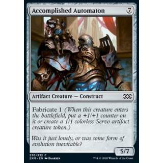 Accomplished Automaton - FOIL