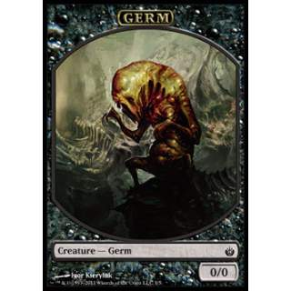 Germ Token (Black 0/0)