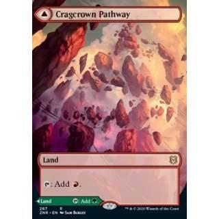 Cragcrown Pathway // Timbercrown Pathway - PROMO FOIL