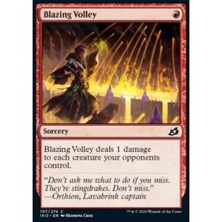 Blazing Volley - FOIL