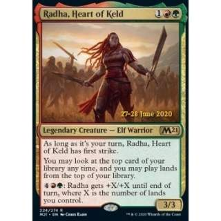 Radha, Heart of Keld (V.2) - PROMO FOIL