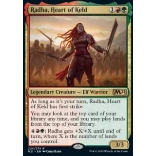 Radha, Heart of Keld - FOIL