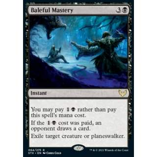 Baleful Mastery - FOIL