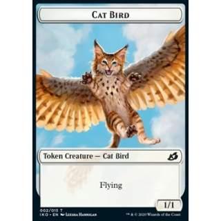Cat Bird Token (W 1/1) // Human Soldier Token (W 1/1) (V.3) - FOIL