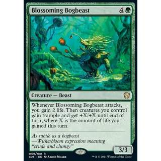 Blossoming Bogbeast - PROMO
