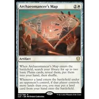 Archaeomancer's Map - PROMO