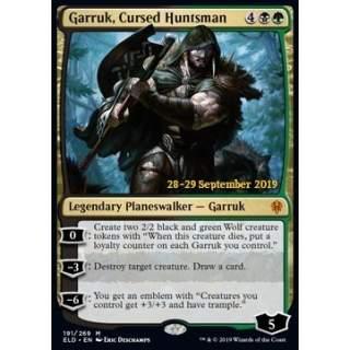 Garruk, Cursed Huntsman (Version 1) - PROMO FOIL