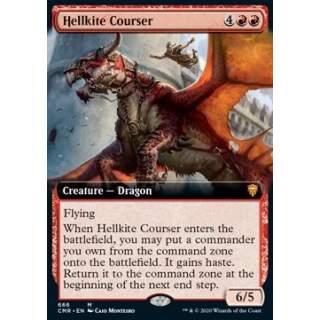 Hellkite Courser - PROMO FOIL