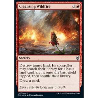Cleansing Wildfire - FOIL