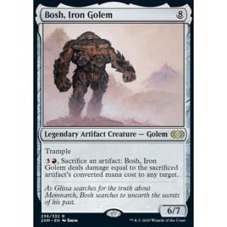 Bosh, Iron Golem - FOIL