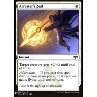 Arrester's Zeal