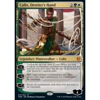 Calix, Destiny's Hand (Version 2) - PROMO FOIL