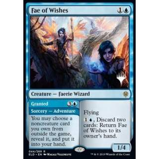 Fae of Wishes // Granted (Version 2) - PROMO FOIL