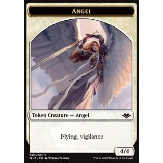 Angel Token (W 4/4 Vigilance) // Illusion Token (U 1/1)