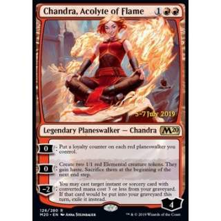 Chandra, Acolyte of Flame (Version 2) - PROMO FOIL