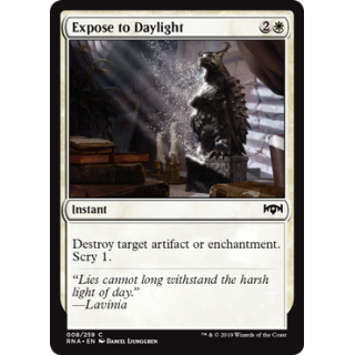 Expose to Daylight - FOIL