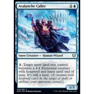 Avalanche Caller - FOIL