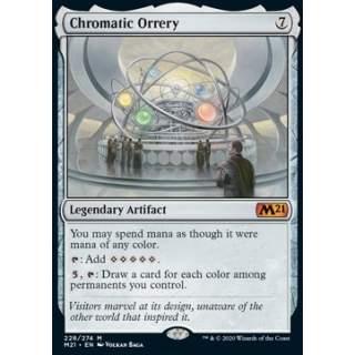 Chromatic Orrery - FOIL